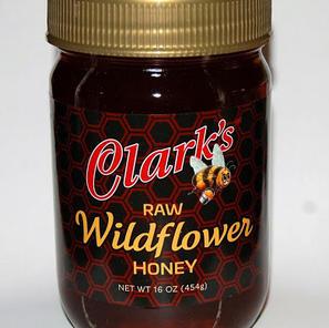 16 oz. WILDFLOWER HONEY Jar 1-CASE $67