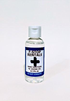 2oz. Hand Sanitizer w/ Jojoba oil (62.5% alc)