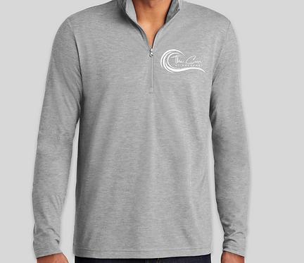 Men's Grey Quarter Zip