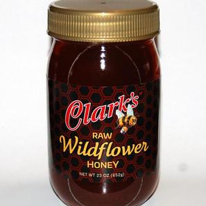 23 oz. WILDFLOWER HONEY Jar 1-CASE $98