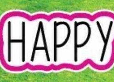 Happy Sign Icon
