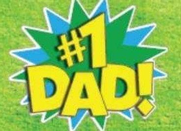 #1 Dad Icon