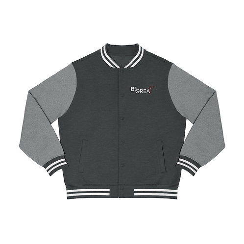 Be Great Men's Varsity Jacket