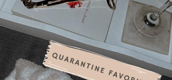 Quarantini (or general home & cozy) favorites