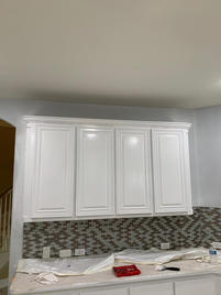 4 Painted Cabinets