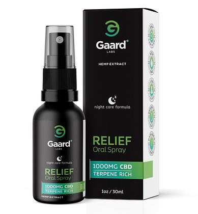 Relief Nighttime Oral Spray