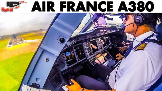 Piloting AIRBUS A380 to Tokyo | Cockpit Views