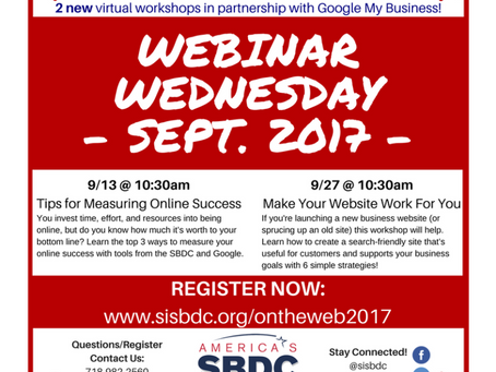 """On the Web"" Webinars"