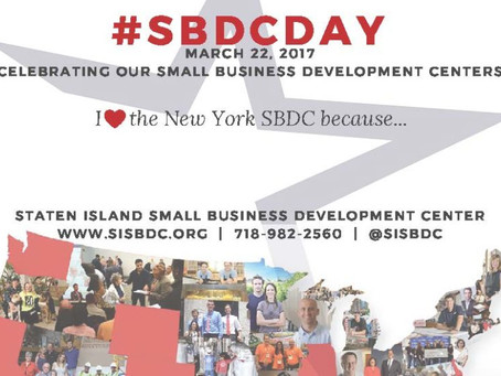 #SBDCDay 2017 – What does the SBDC mean to you?