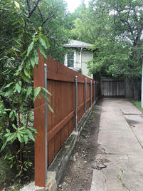 New Installed Fence