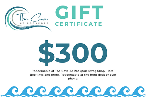 $300 Certificate