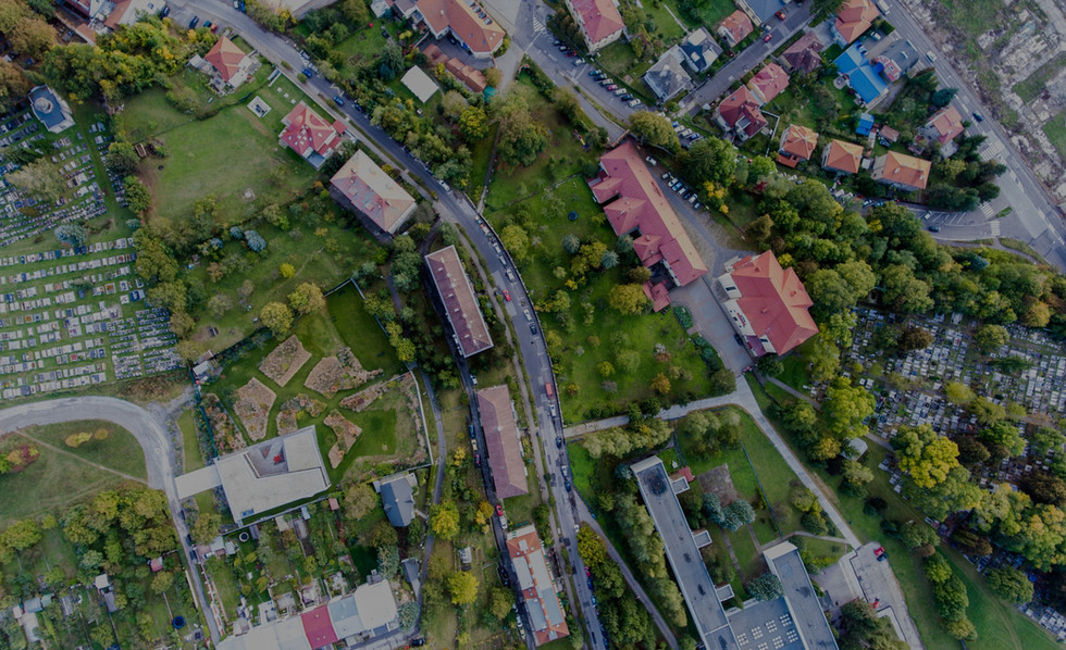 residential-neighborhood-and-cementery-i
