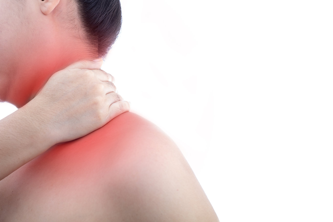 young-woman-with-neck-pain-and-at-white-