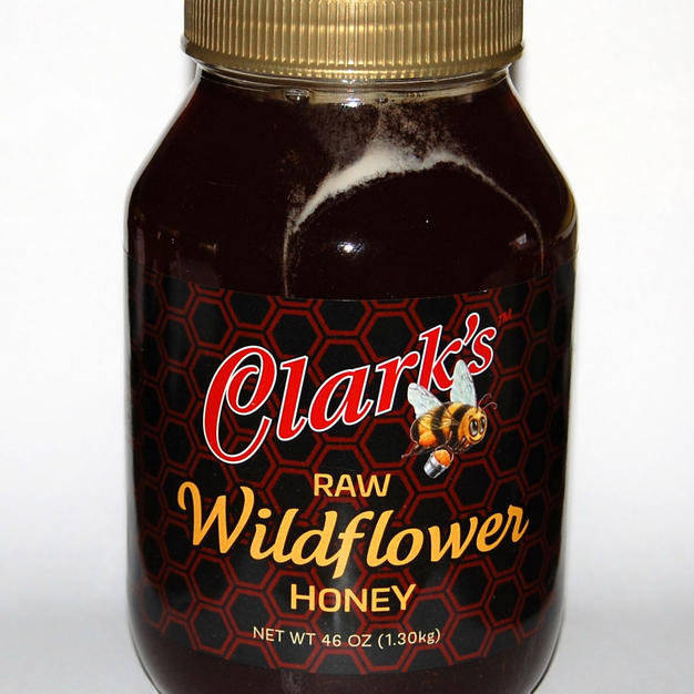 46 oz.  WILDFLOWER HONEY Jar 1-CASE $172