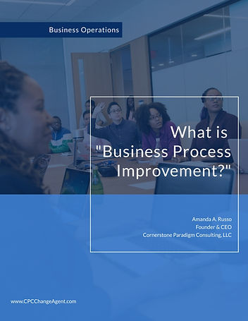 What is Business Process Improvement cov