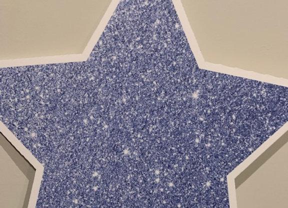 Sparkly Blue Star Icon