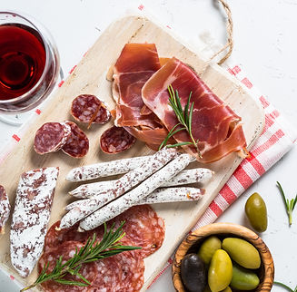 traditional-italian-antipasto-on-white-G