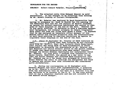 Rand Development and U.S. Intelligence: By Gary Hill