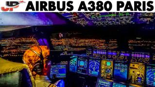 Fantastic Cockpit Views AIRBUS A380 Takeoff   8 Cameras