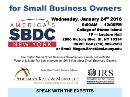 How will the new tax law impact you & your small business?