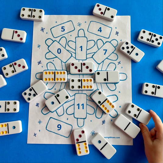 Snowflake Domino Sort