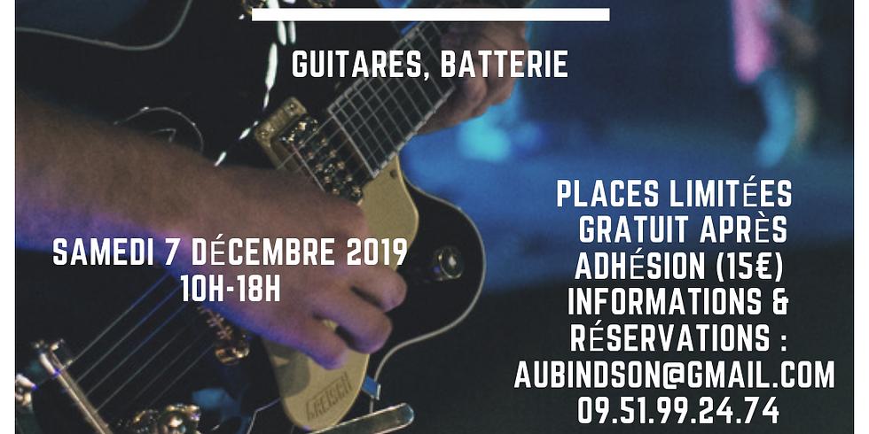 Formation Réglage d'instruments  ( guitares, batterie)