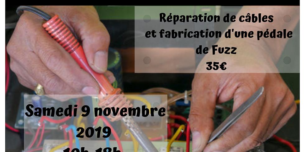 DIY / initiation soudure / fabrication d'une pedale d'effet
