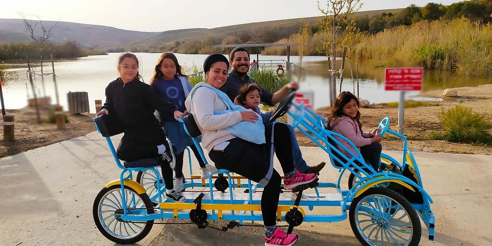 רכיבה על אופניים משפחתיים - ויטמין שיא