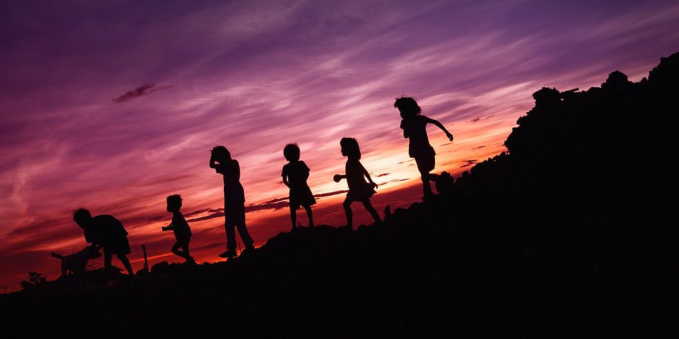 הדלקת נרות חגיגית בחוות ההר הלבן ופעילות לילדים
