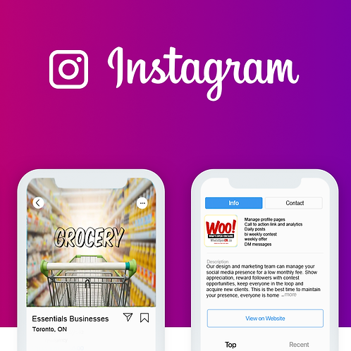 Facebook and Instagram Assistant Manager