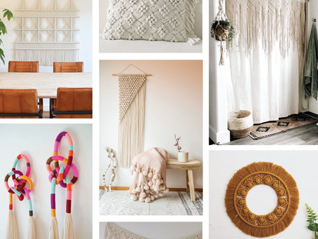 Macrame Home Decor 5 Ways...