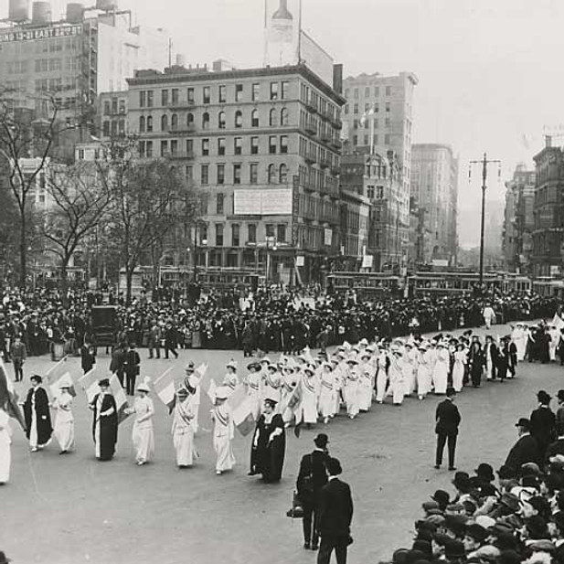 Suffragists' Fight for the 19th Amendment