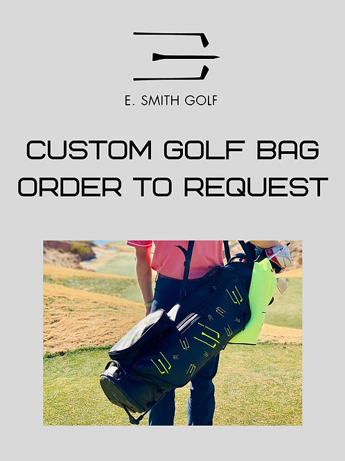 Custom Golf Bag | Custom Option