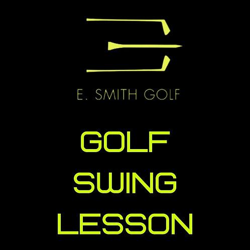 E. Smith Golf  Swing Lesson