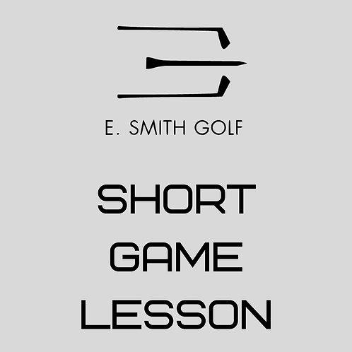 E. Smith Golf Short Game Lesson