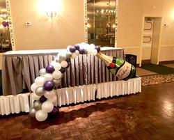 champagne bottle balloons