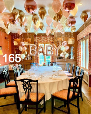 baby shower and gender reveal party balloons and decorations rosewood illinois