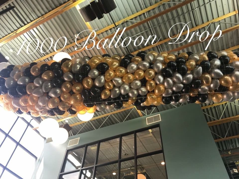 balloon drop new years eve