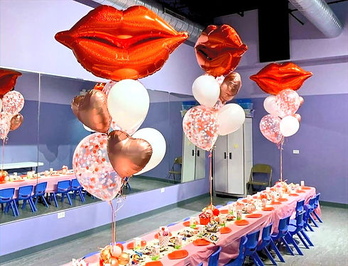 Kids Party Balloons and Decor, Trendy, Girl's Birthday Decorations, Chicago IL, near me