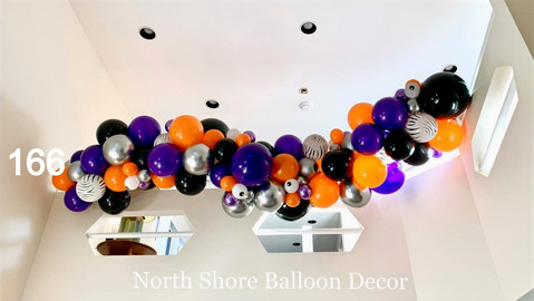 halloween balloon garland extra large for indoors