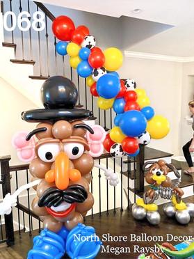 kids-birthday-balloon-deliveries-golf-illinois north shore balloon decor