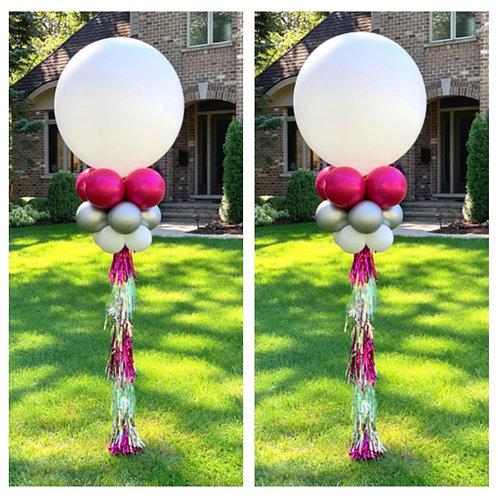 2 Tassel Balloons (yard columns or helium)