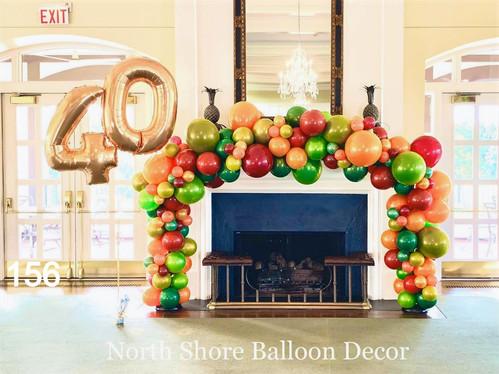 balloon decoration deliveries winnetka, evanston, kildeer, IL