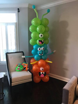monster balloon decorations
