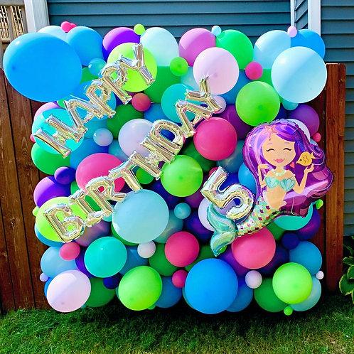 Deluxe Balloon Wall