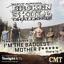 david christopher, david punk rock christopher, steve austin's broken skull challenge, steve austin, cmt, athlete, fitness, reality tv, fitness