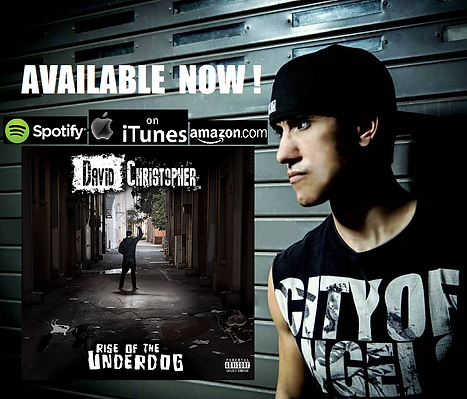 david christopher, rise of the underdog, ep, itunes