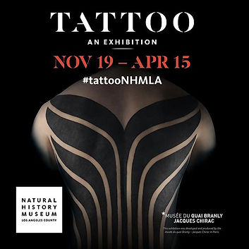 National History Museum, National History Tattoo, Tattoos, Art, Art culture, Tattoo Culture, David Punkrock Christopher, David Chrstopher, Los AngelesMuseum Los Angeles,