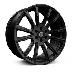 Hawke Denali 20 inch wheel finished in Matt Black; drilled to 6-114 stud pattern