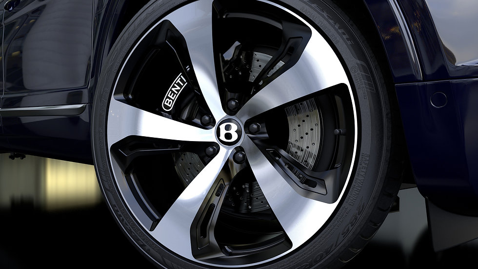 Hawke wheels full range of Alloy wheels have been 3D rendered by us.